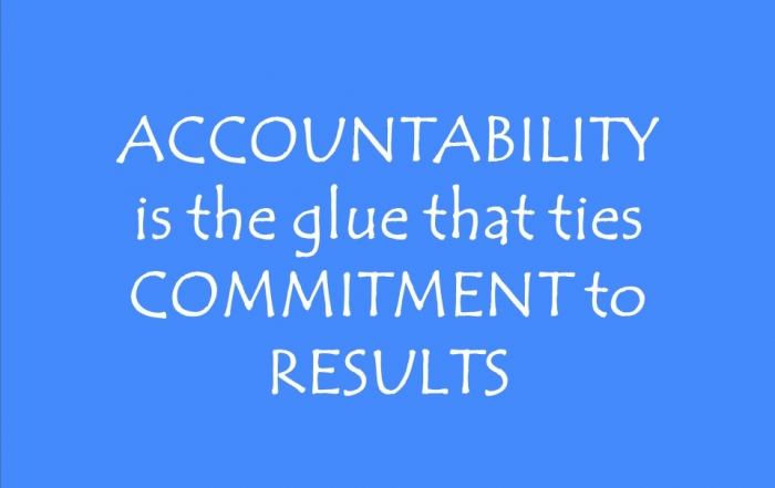 Blue Background - Accountability