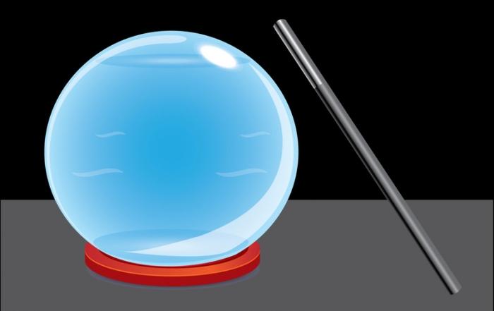 Cyrstal Ball and Magic Wand