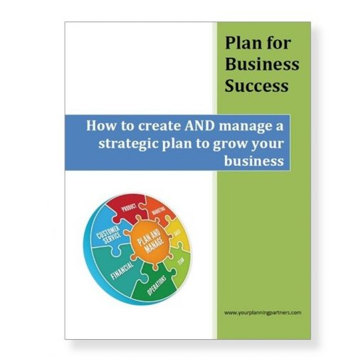Plan for Business Success Cover